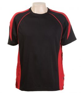 Olympikool Tees-Black-Red